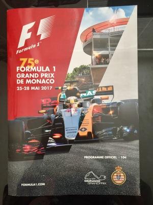 Monaco GP Brochure Front Cover