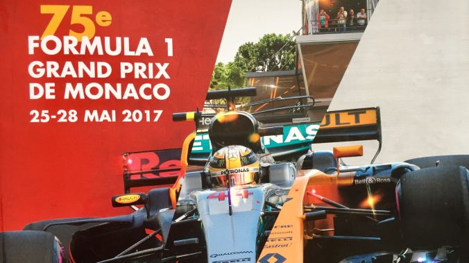 Front Cover of Monaco Grand Prix Brochure